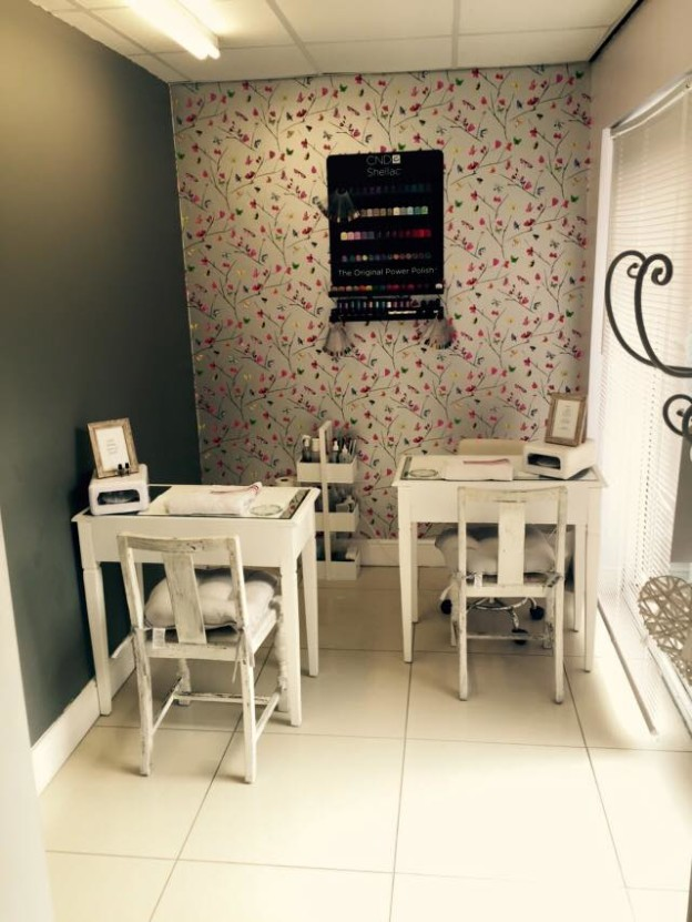 Luxury manicure pedicures with free cnd shellac little for A little luxury beauty salon