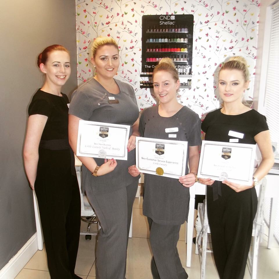 Warrington 39 s award winning salon little luxury for A little luxury beauty salon
